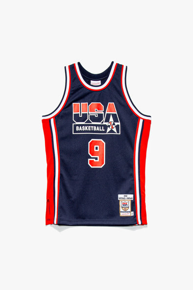 Mitchell & Ness Team USA Micahel Jordan Jersey - Rule of Next Apparel