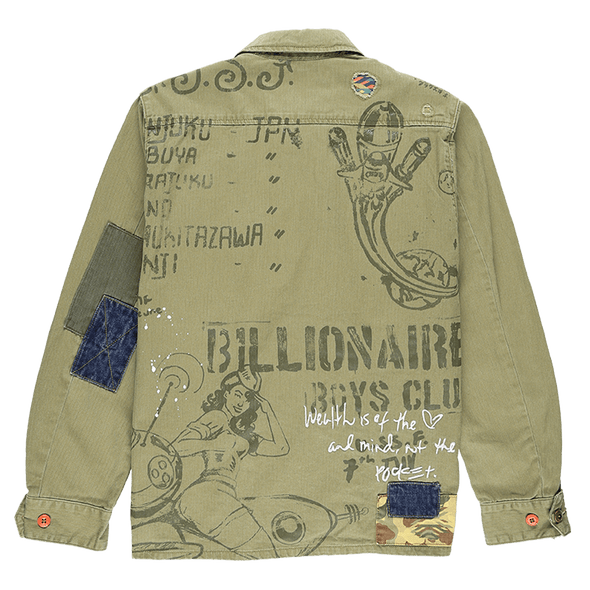 Billionaire Boys Club Fatigued Jacket - Rule of Next Apparel