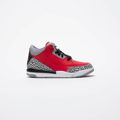 Air Jordan Air Jordan 3 Retro 'Red Cement' (PS) - Rule of Next Footwear