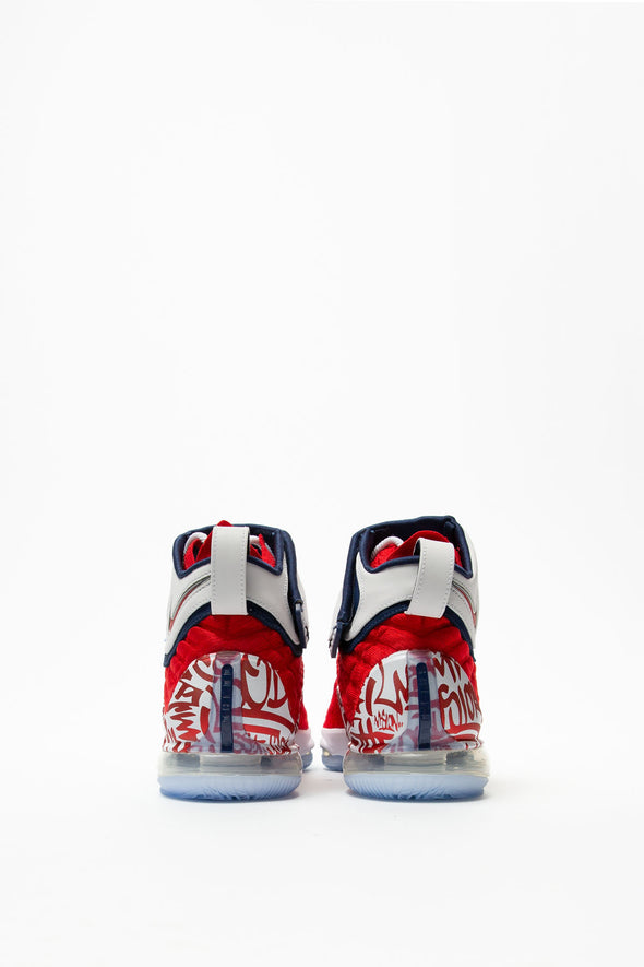 Nike LeBron 17 'Red Graffiti' - Rule of Next Footwear