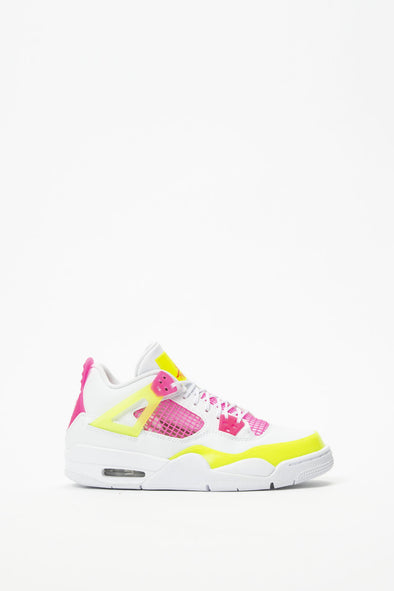 Air Jordan Girls' Air Jordan 4 Retro 'Lemon Venom' (GS) - Rule of Next Footwear