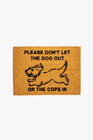 Common Sense Door Mat