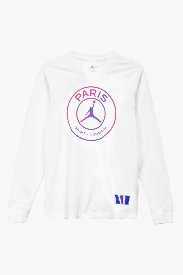Air Jordan Paris Saint-Germain Long-Sleeve T-Shirt - Rule of Next Apparel