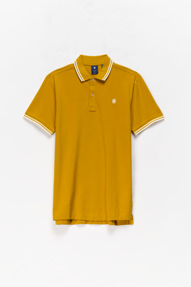 G-Star RAW Dunda Slim Stripe Polo Shirt - Rule of Next Apparel