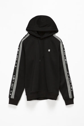G-Star RAW Sport Heather Stripe Hoodie - Rule of Next Apparel
