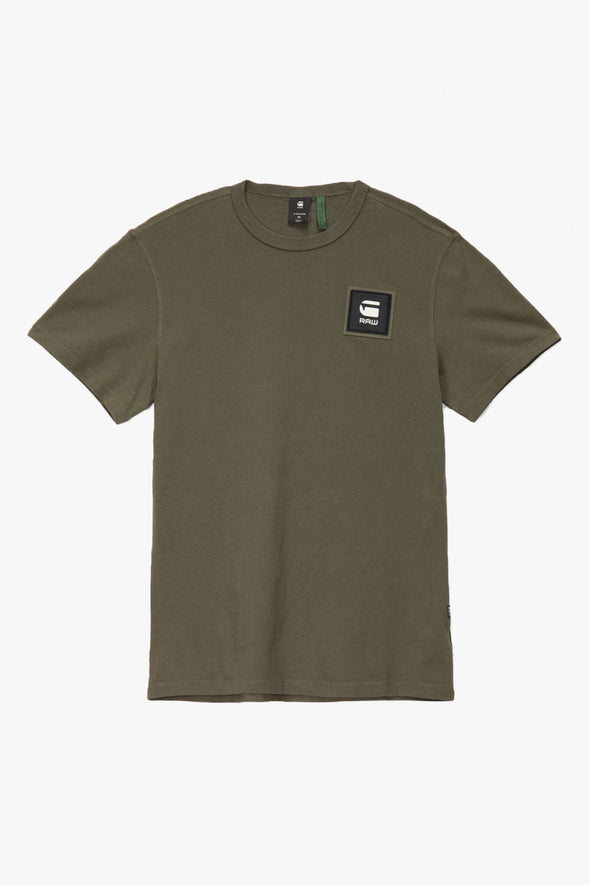 G-Star RAW Badge Logo T-Shirt - Rule of Next Apparel
