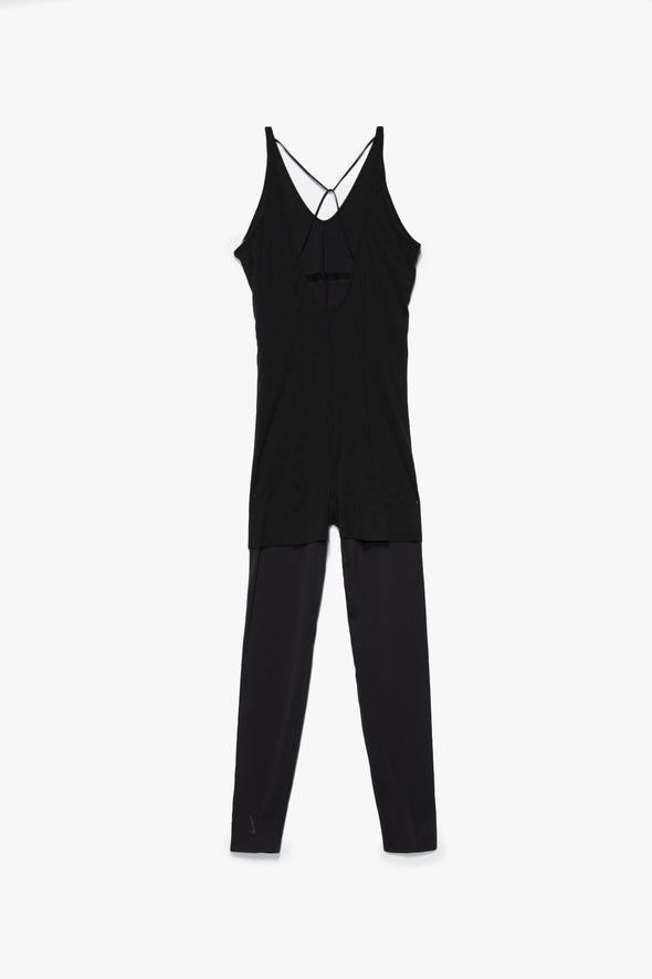 Nike Women's Yoga Luxe Layered 7/8 Jumpsuit - Rule of Next Apparel