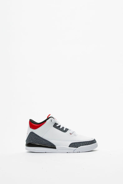 Air Jordan Kids' Air Jordan 3 Retro 'Fire Red' (PS) - Rule of Next Footwear