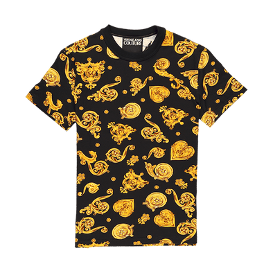 Versace Jeans Couture Floral Printed T-Shirt - Rule of Next Apparel