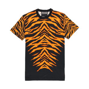 Versace Jeans Couture Tiger Print T-Shirt - Rule of Next Apparel