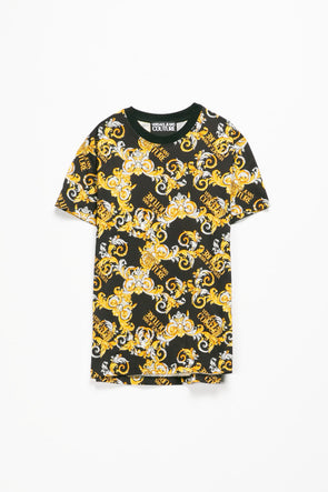 Versace Jeans Couture Baroque Logo T-Shirt - Rule of Next Apparel