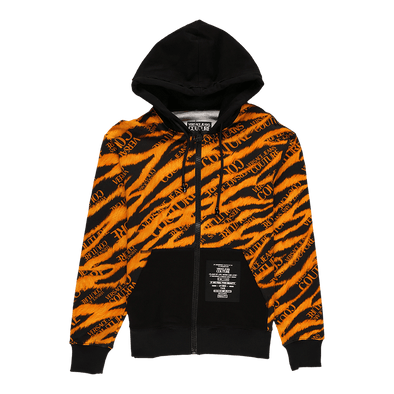Versace Jeans Couture Tiger Print Hoodie - Rule of Next Apparel