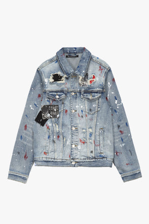 Embellish Rebel Denim Jacket - Rule of Next Apparel