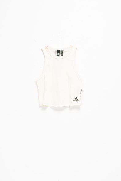 adidas Women's Recycled Cotton Cropped Tank - Rule of Next Apparel