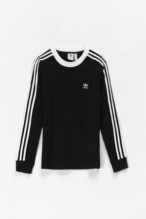 adidas Women's 3-Stripes Long Sleeve T-Shirt - Rule of Next Apparel