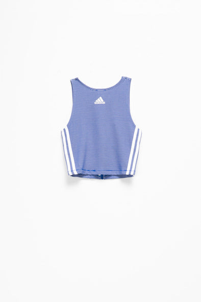 adidas Women's Zippable Rib Tank - Rule of Next Apparel