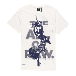 G-Star RAW Bird Pocket Graphic T-Shirt - Rule of Next Apparel