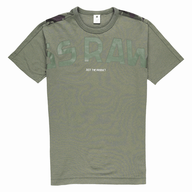 G-Star RAW Gsraw Back Camo All-Over Graphic T-Shirt - Rule of Next Apparel