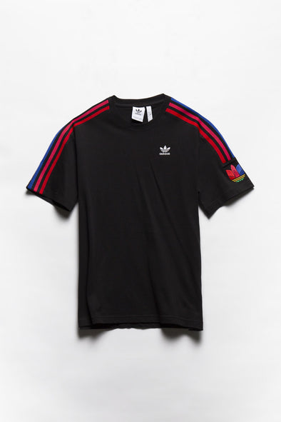 adidas 3D Trefoil 3 Stripe T-Shirt - Rule of Next Apparel