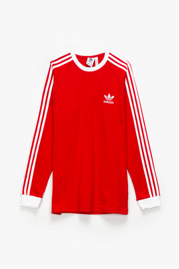 adidas 3-Stripes Long Sleeve T-Shirt - Rule of Next Apparel