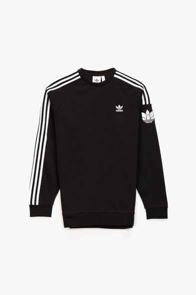 adidas Adicolor 3D Trefoil 3-Stripes Crewneck - Rule of Next Apparel