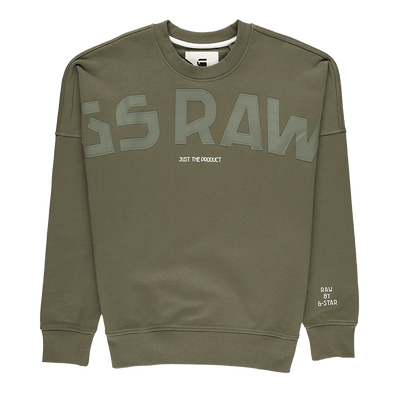 G-Star RAW Gsraw Graphic Crewneck - Rule of Next Apparel