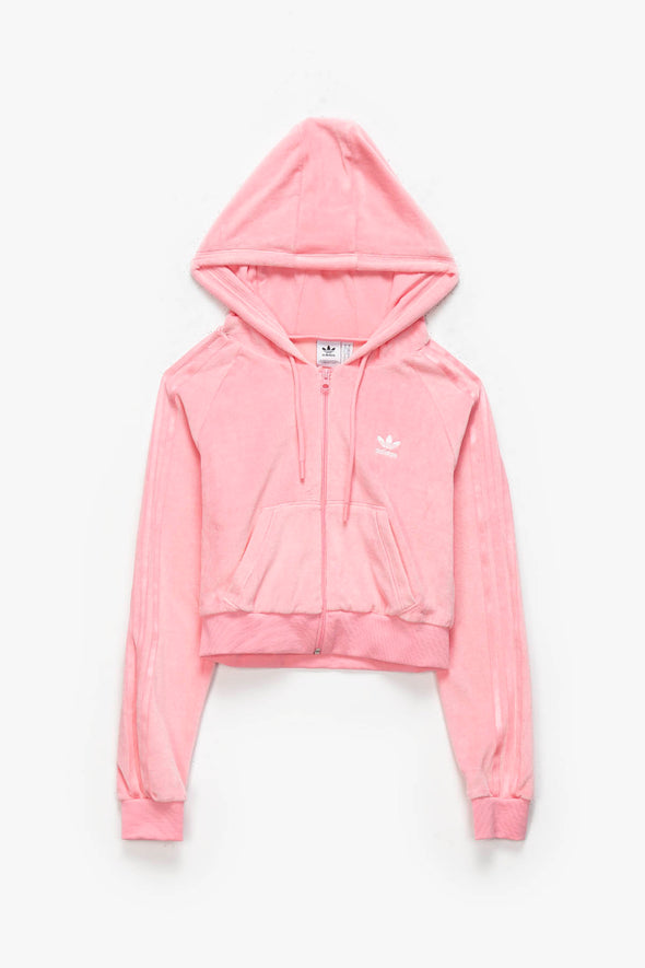 adidas Women's Cropped Full Zip Hoodie - Rule of Next Apparel