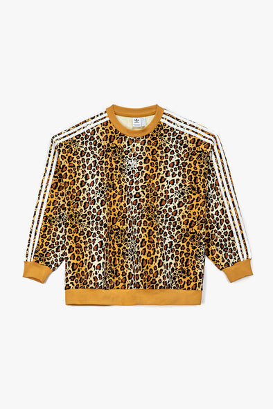 adidas Women's Leopard Crewneck - Rule of Next Apparel