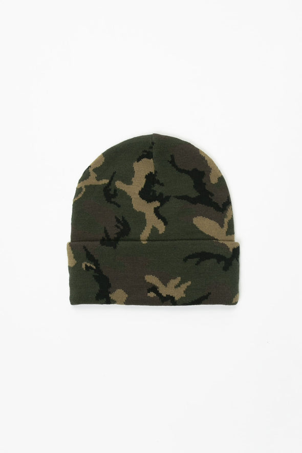Carhartt WIP Camo Laurel Beanie - Rule of Next Accessories