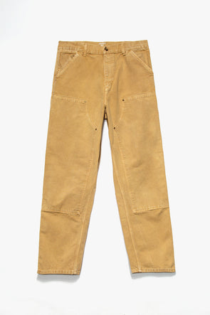 Worn Canvas Double Knee Pants