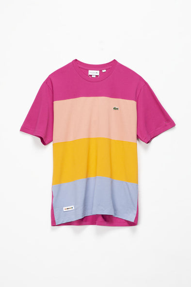 Lacoste Colorblocked Ice Cotton T-Shirt - Rule of Next Apparel