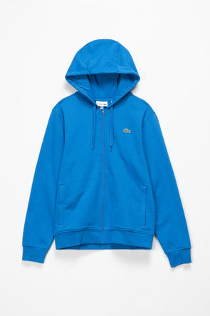 Lacoste Sport Fleece Full Zip Hoodie - Rule of Next Apparel