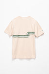 Lacoste Ribbon Print T-Shirt - Rule of Next Apparel