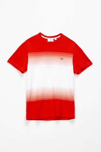 Lacoste Ombre Colorblock T-Shirt - Rule of Next Apparel