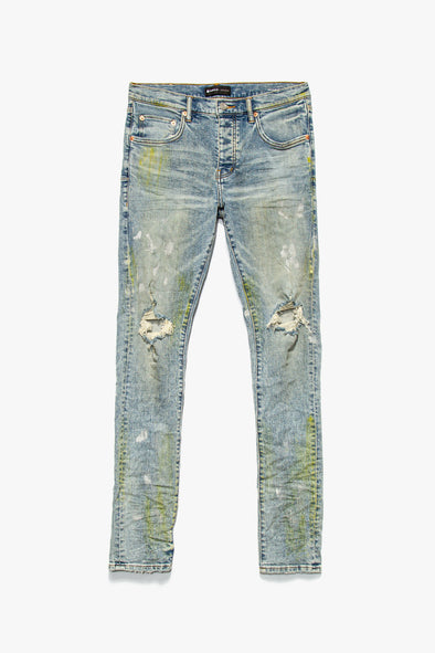 Purple Brand Light Blue Vintage Jeans - Rule of Next Apparel