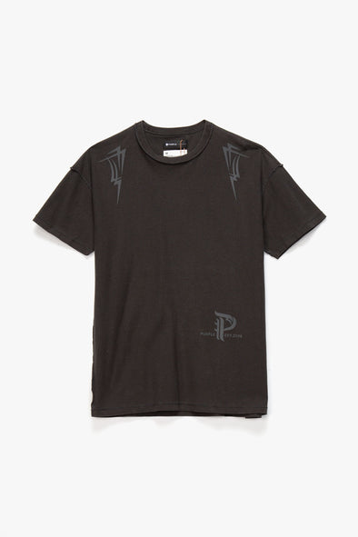 Purple Brand Pyramid Relaxed T-Shirt - Rule of Next Apparel