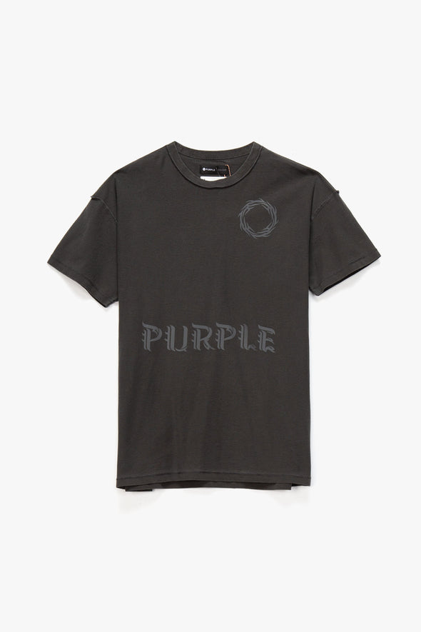 Purple Brand Wreath Relaxed T-Shirt - Rule of Next Apparel