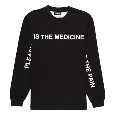 Pleasures Medicine Premium Long Sleeve T-Shirt - Rule of Next Apparel