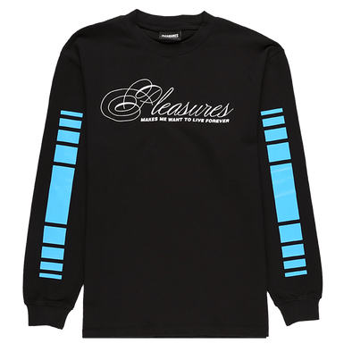 Pleasures Live Forever Premium Long Sleeve T-Shirt - Rule of Next Apparel