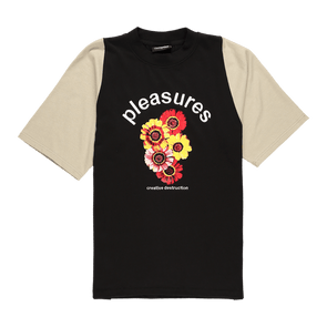 Pleasures Destruction Heavy Knit T-Shirt - Rule of Next Apparel