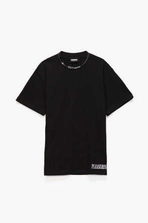Pleasures Cut Here Heavyweight T-Shirt - Rule of Next Apparel