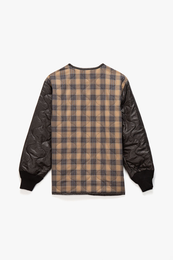 Pleasures Bowery Plaid Liner Jacket - Rule of Next Apparel