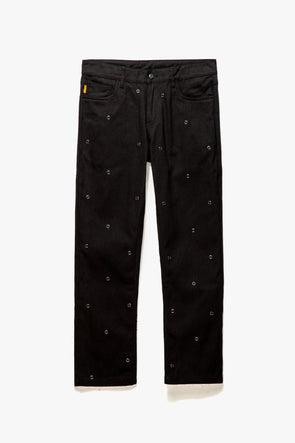 Pleasures Village Rivet Denim Pants - Rule of Next Apparel