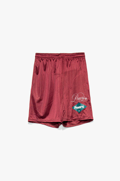 POWERS Diamond Script Mesh Shorts - Rule of Next Apparel