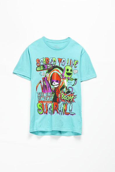 Sugarhill Scared T-Shirt - Rule of Next Apparel
