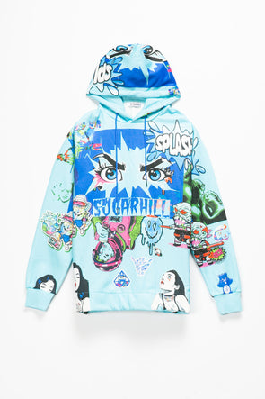 Sugarhill Psycho Hoodie - Rule of Next Apparel
