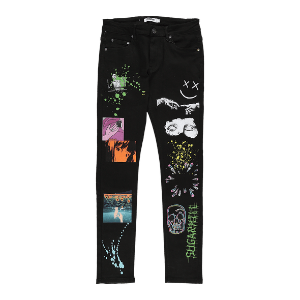 Sugarhill Statue Printed Jeans - Rule of Next Apparel