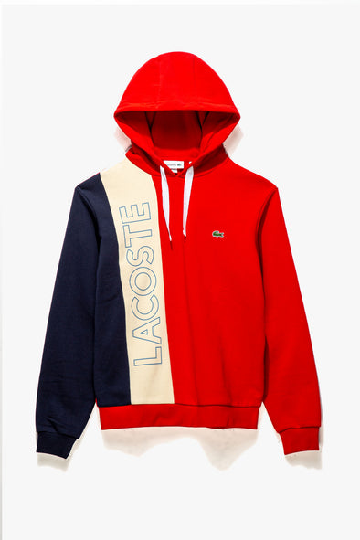 Lacoste Colorblock Hoodie - Rule of Next Apparel