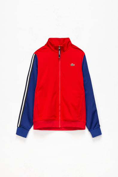 Lacoste Zip Up Sweatshirt - Rule of Next Apparel