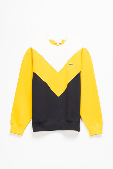 Lacoste Chevron Crewneck - Rule of Next Apparel